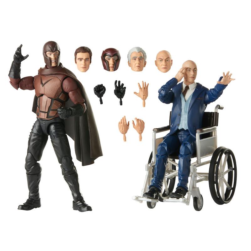 Hasbro Marvel Legends X-Men Magneto & Professor X Box Set Now $38 On Amazon