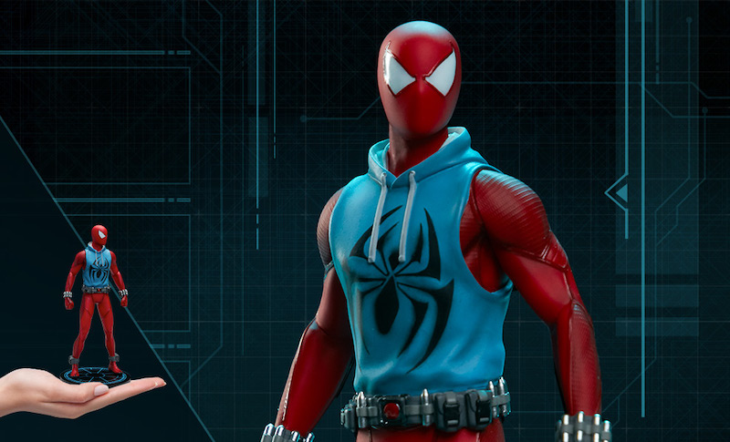 Pop Culture Shock – Spider-Man PS4 Scarlet Spider 1/10th Scale Statue Pre-Orders