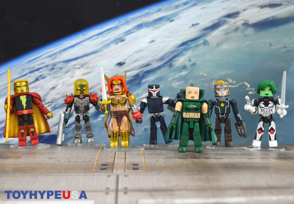 Diamond Select Toys – Marvel Minimates Guardians Of The Galaxy Series 79 Figures Review