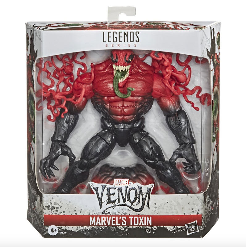 Hasbro Marvel Legends 6″ Toxin Figure Now $23.99 On Amazon