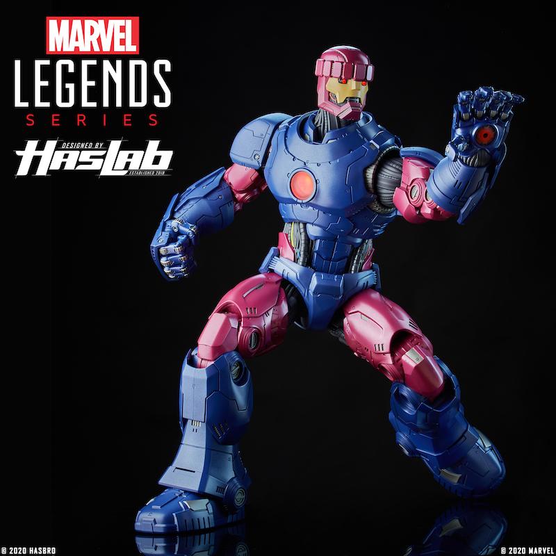 Hasbro Announces Marvel Legends 26″ Sentinel Figure