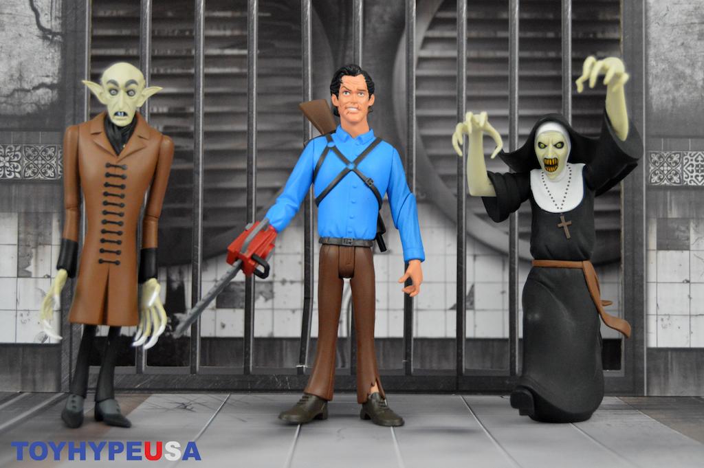 NECA Toys Toony Terrors Series 3 Ash, Count Orlok & The Nun Figures Review