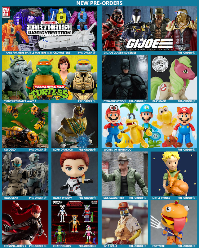 BigBadToyStore – Transformers, G.I. Joe, TMNT, Batman, Power Rangers, Nintendo, My Little Pony, Macross, Godzilla & More