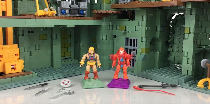 Mega Construx Masters Of The Universe Final Showdown He-Man Vs. Beast Man Figures Video Review