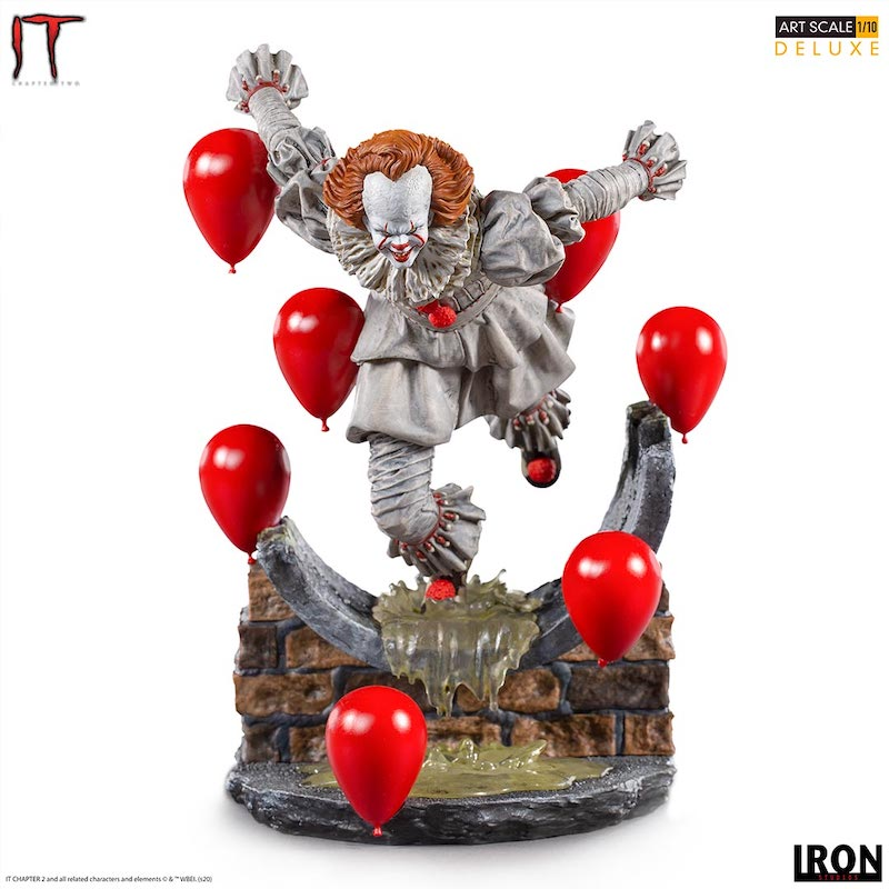 Iron Studios – IT Chapter Two – Pennywise Deluxe Art Scale 1/10 Statue Pre-Orders
