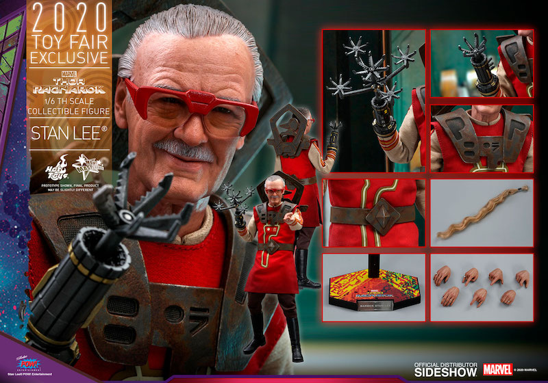 Hot Toys – Marvel Comics Stan Lee Sixth Scale Figure Pre-Orders