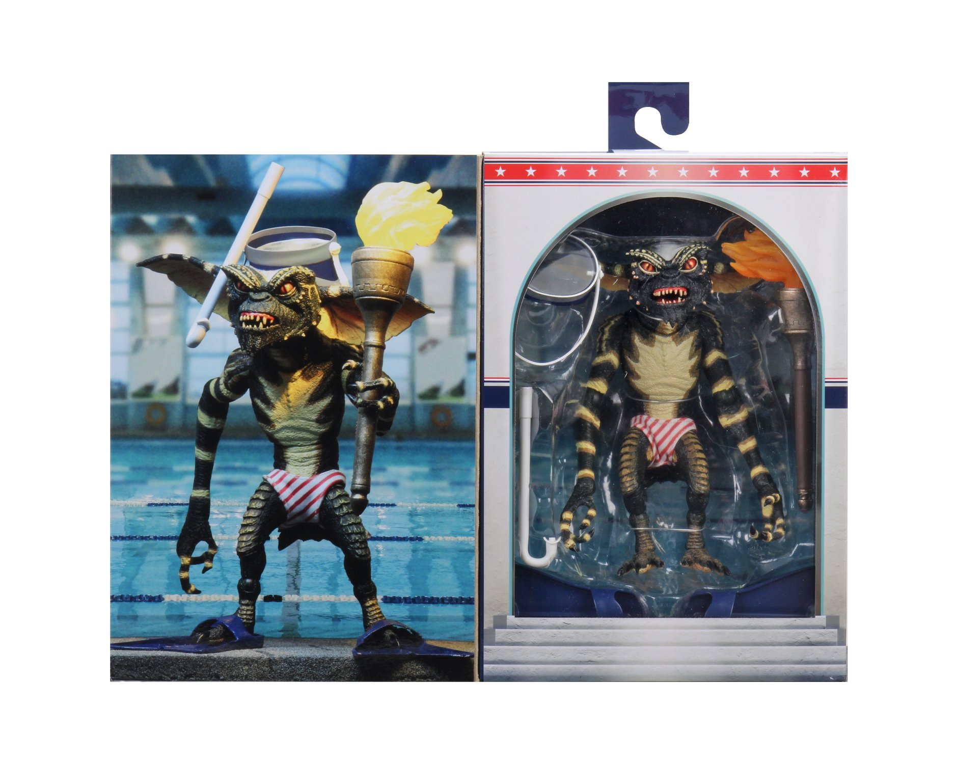 NECA Toys San Diego Comic-Con 2020 Exclusive – Ultimate Summer Games Gremlin Figure