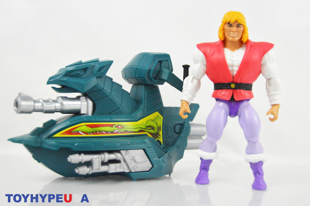 Mattel – Masters Of The Universe Origins Prince Adam With Sky Sled Review