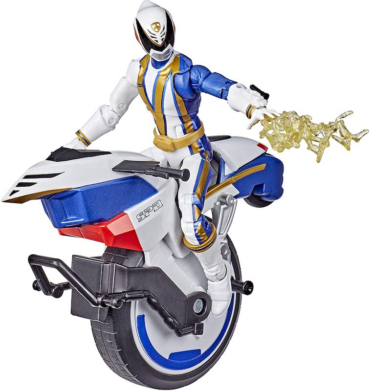 Hasbro Power Rangers Lightning Collection S.P.D. Omega Ranger & Uniforce Cycle Vehicle Now $20.49 On Amazon