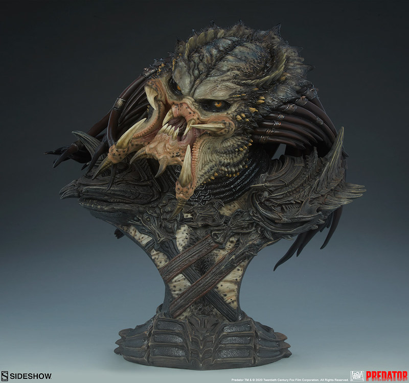Sideshow Collectibles Predator Barbarian Mythos Legendary Scale Bust Pre-Orders