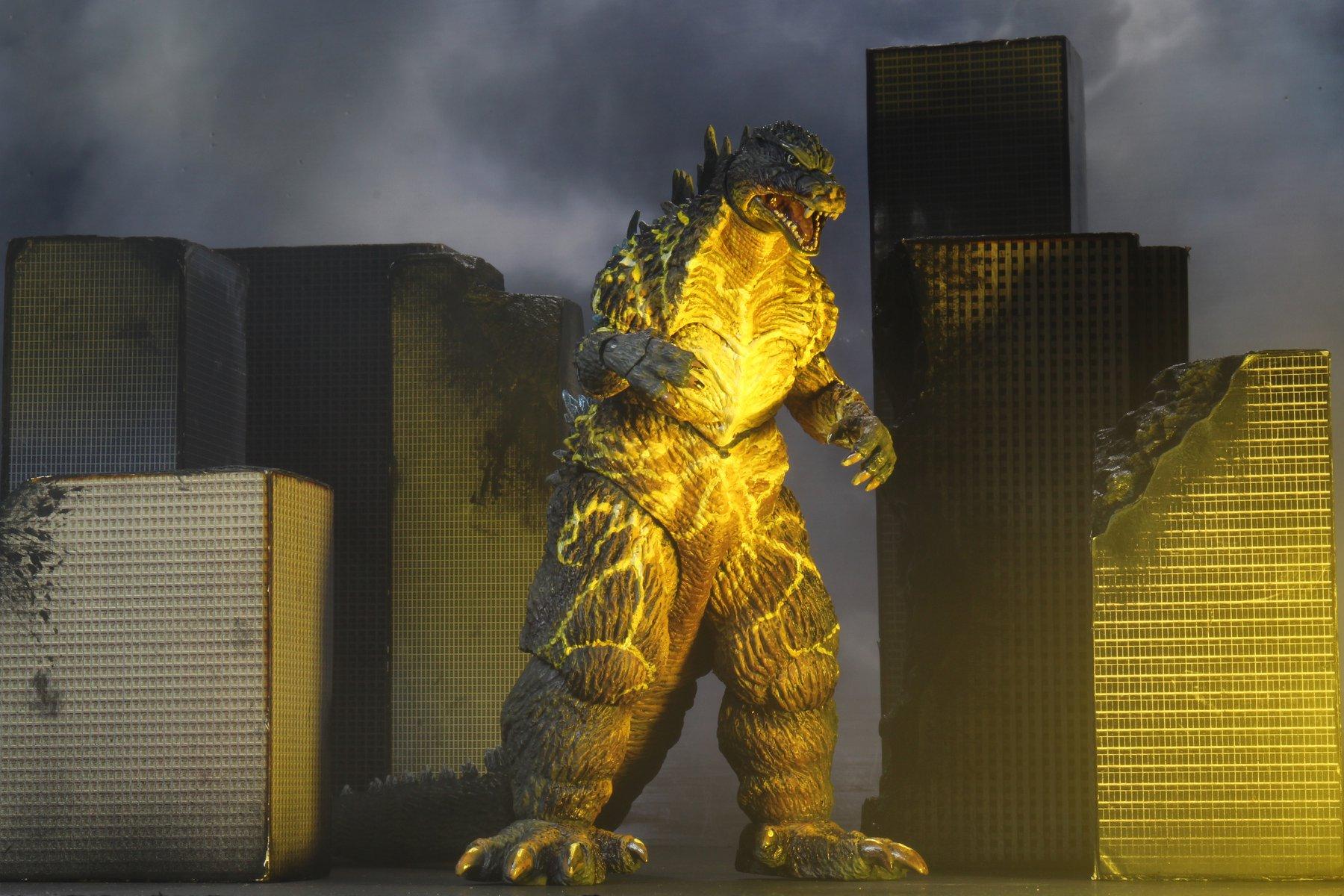 NECA Toys Hyper Blast 2003 Tokyo S.O.S Godzilla Variant Figure
