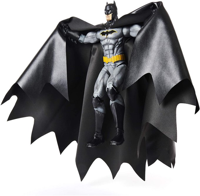 DC FanDome Spin Master Exclusive Deluxe Batman With Cloth Cape Figure Pre-Orders On Amazon