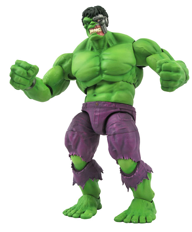 Diamond Select Toys Marvel Select Rampaging Hulk Figure Pre-Orders On Amazon