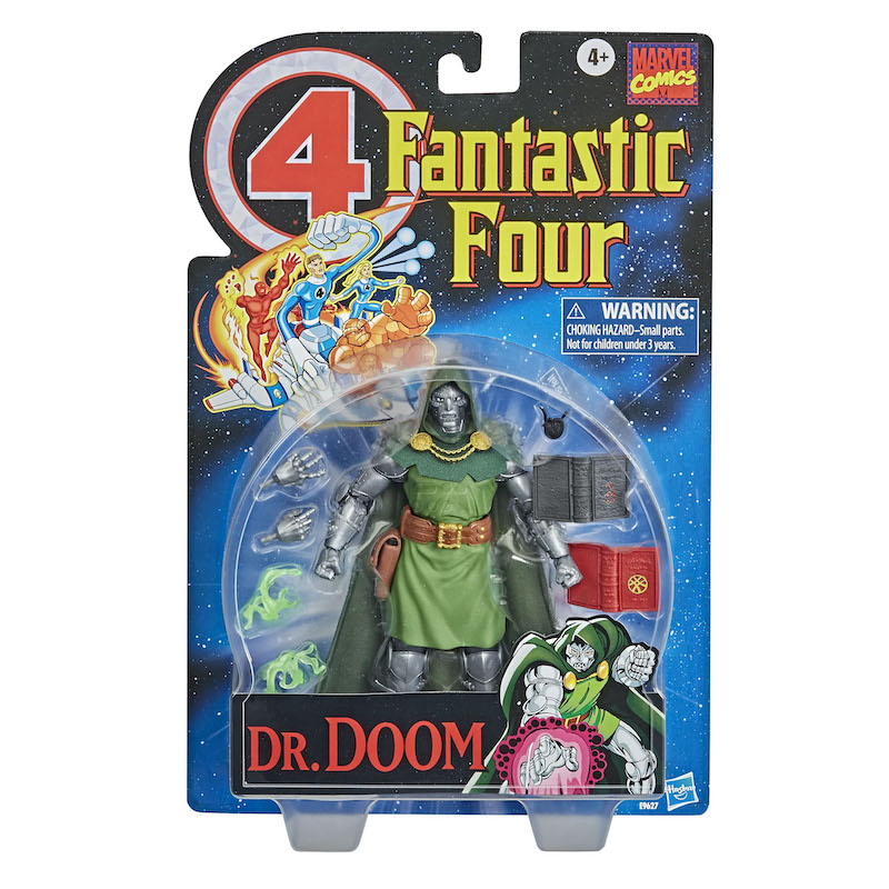 Hasbro Marvel Legends Fantastic Four 6″ Doctor Doom Figure In Retro Packaging Pre-Orders
