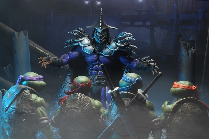 NECA Toys Teenage Mutant Ninja Turtles II: The Secret of the Ooze Super Shredder Deluxe 7″ Scale Figure Pre-Orders Today