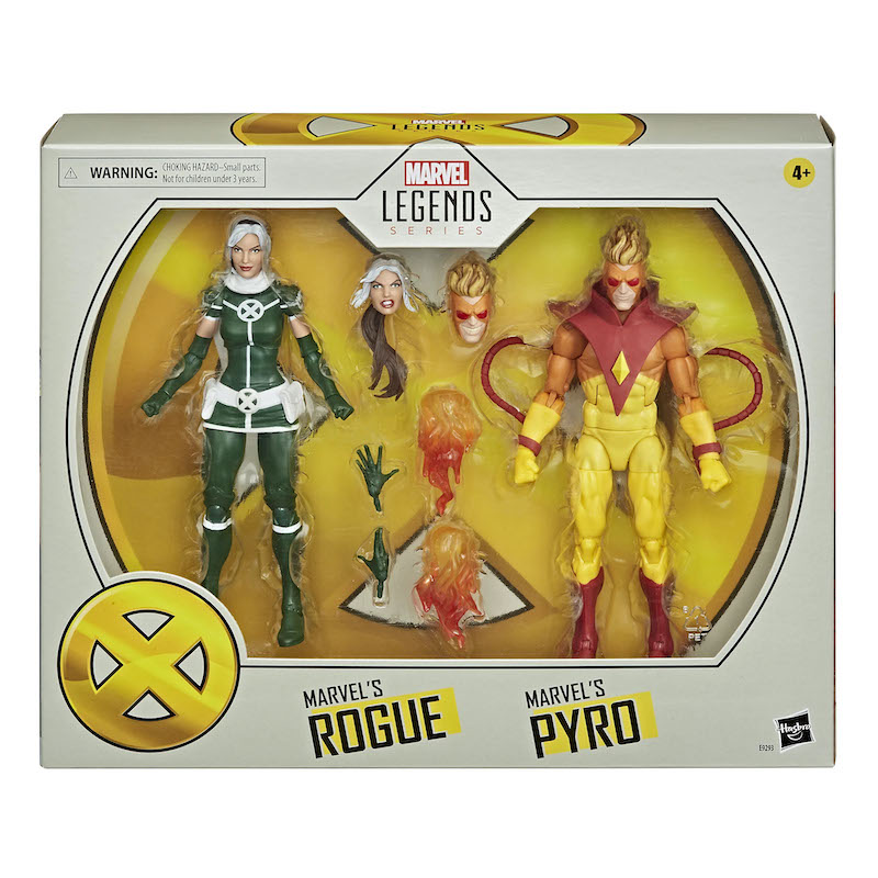 Hasbro Marvel Legends X-Men Rogue & Pyro Figure 2 Pack Pre-Orders
