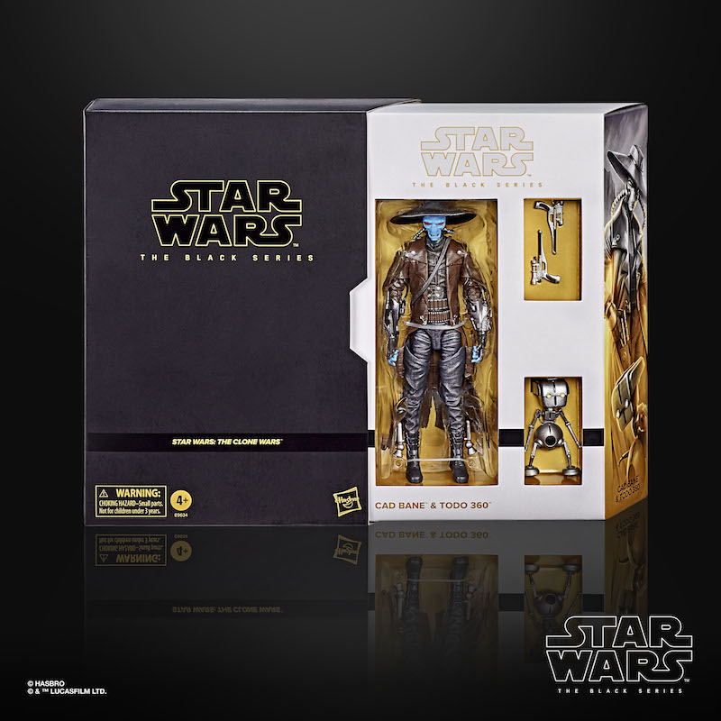Hasbro Star Wars The Black Series 6″ Cad Bane & TODO Figure 2-Pack