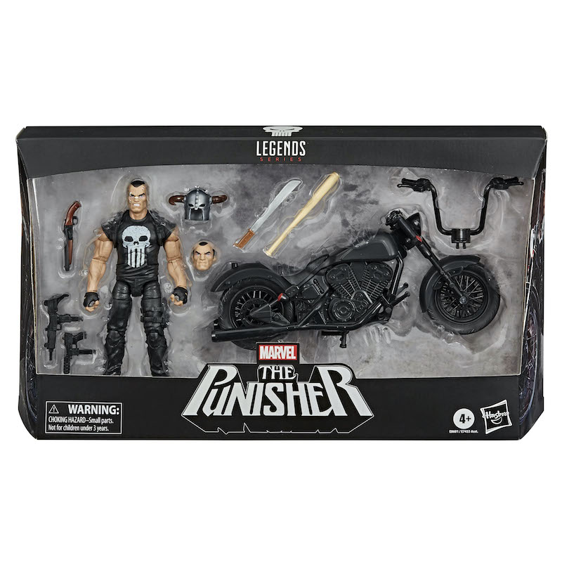 Hasbro Marvel Legends The Punisher With Motorcycle Pre-Orders