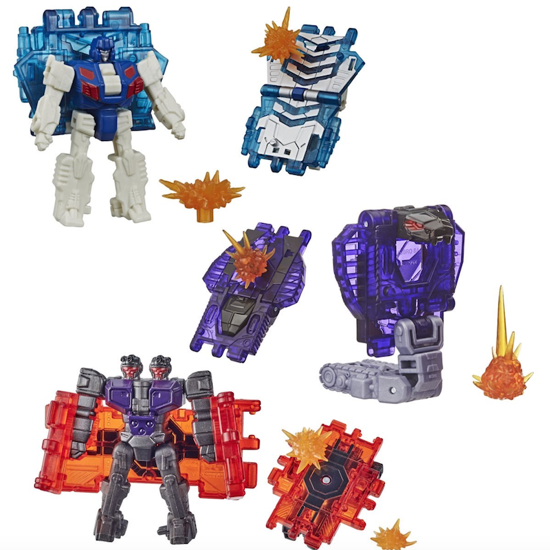 Hasbro Transformers War For Cybertron: Earthrise Battle Masters Wave 3 Figures