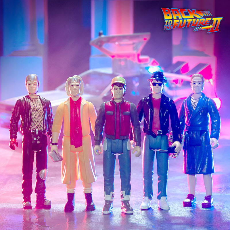 Super7 – Back to the Future 2 ReAction Figures