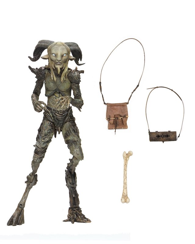 NECA Toys Guillermo del Toro Signature Collection – Old Faun (Pan's Labyrinth) Figure Available Now