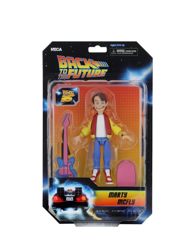 NECA Toys Back To The Future Toony Classics Figures In-Packaging
