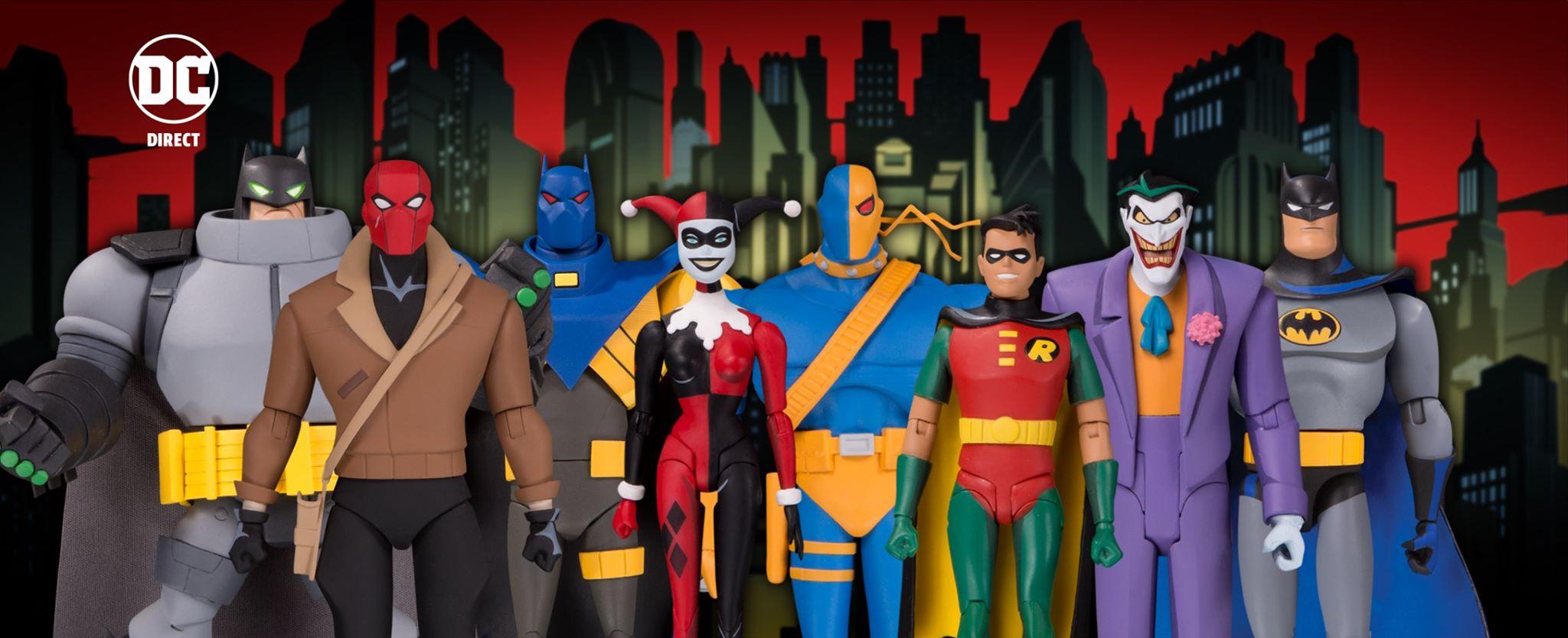 Batman The Adventures Continue Batman, Robin, Azrael & Deathstroke Figures In-Stock At EE