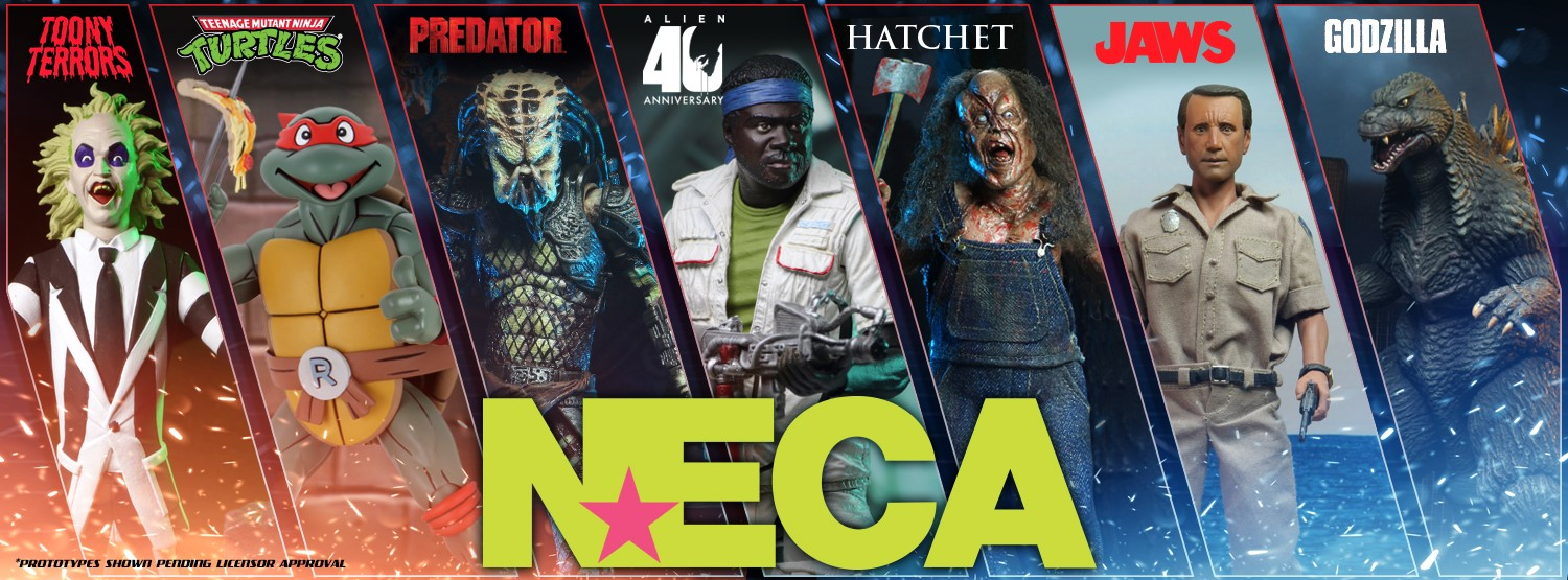 NECA Toys Interview With Randy Falk On Horror Toylines