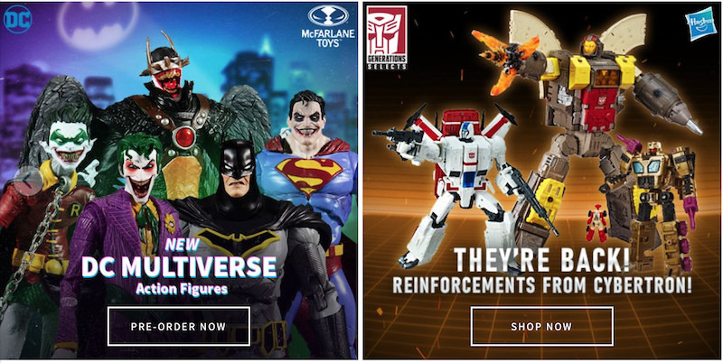 Entertainment Earth – DC Multiverse, Marvel Legends, Funko, Dragon Ball & More