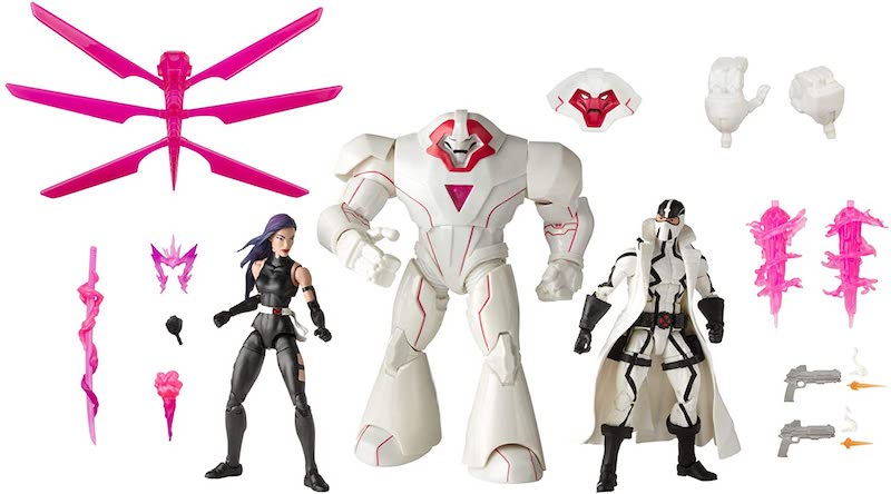 Hasbro Marvel Legends Psylocke, Nimrod & Fantomex 3-Pack Now $49.99 On Amazon