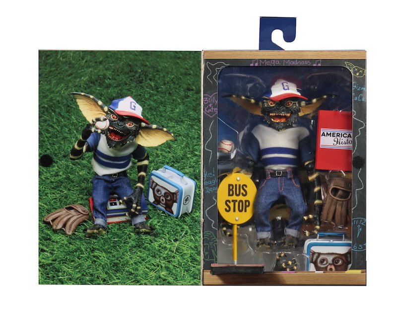NECA Toys Back To School Gremlins 7″ Scale Figure In-Packaging