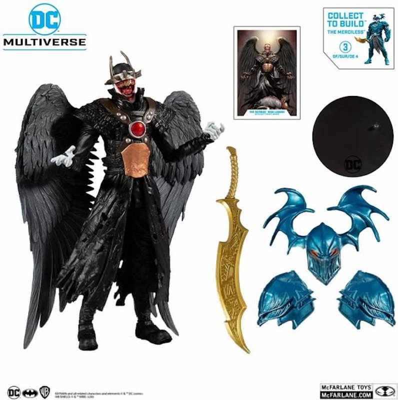 McFarlane Toys DC Multiverse Merciless Build-A Parts Wave Pre-Orders On Amazon