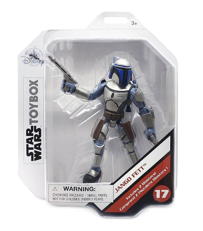 Disney Store Exclusive – Star Wars Toy Box Jango Fett Figure In-Stock