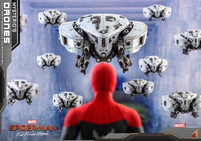 Hot Toys Spider-Man: Far From Home – Drone Accessory Set