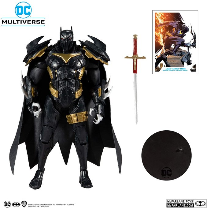 McFarlane Toys DC Multiverse Azrael in Batman Armor: Batman: Curse of The White Knight Pre-Orders