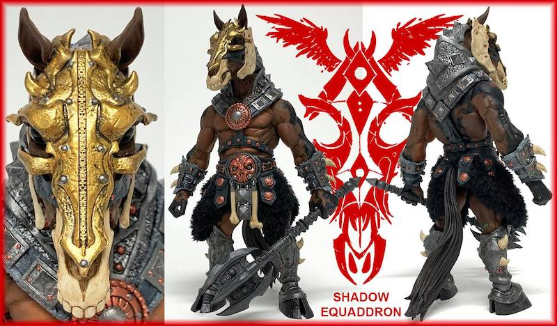 Four Horsemen Studios – Mythic Legions Shadow Equaddron Figure