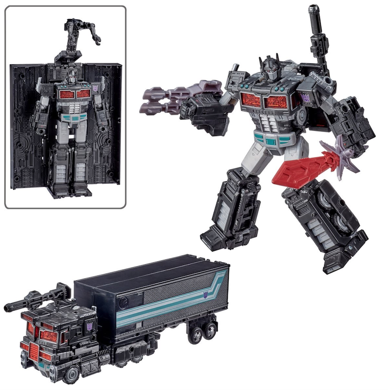Hasbro Transformers War For Cybertron Trilogy – Leader Prime Spoiler Pack