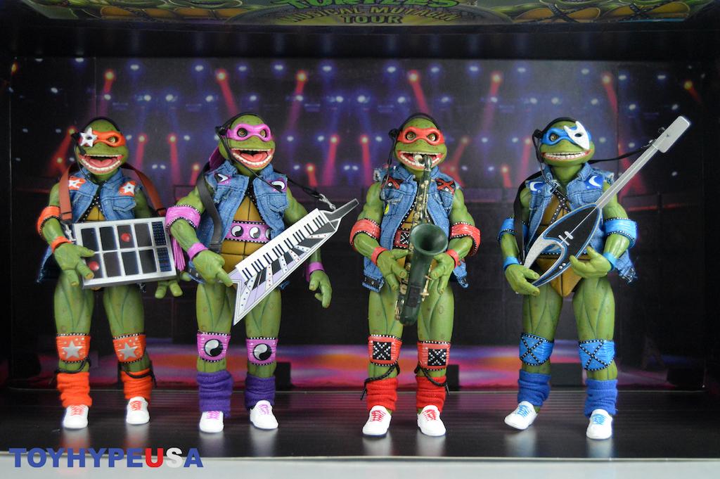 NECA Toys San Diego Comic-Con 2020 Exclusive – Teenage Mutant Ninja Turtles Box Set Figures Review