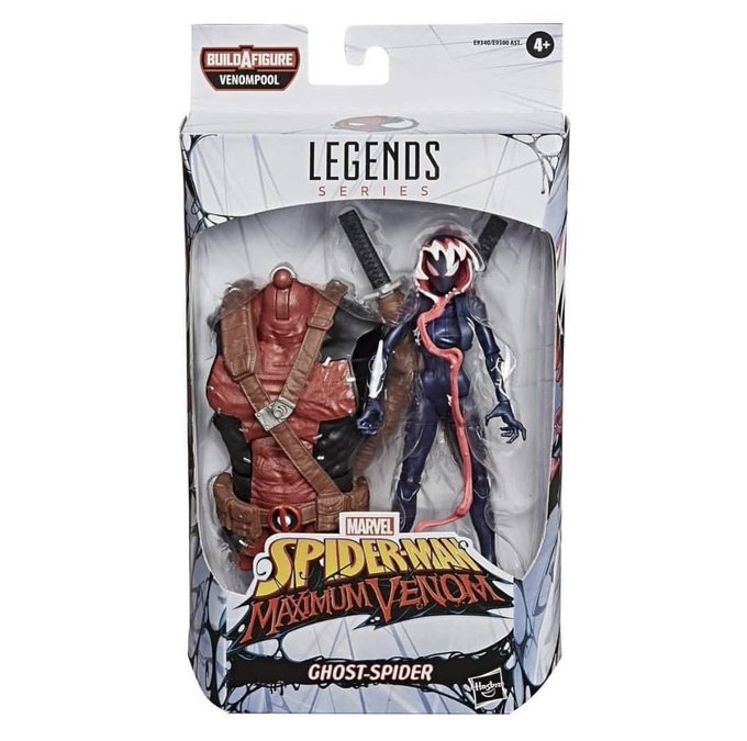 Hasbro Marvel Legends Venompool Build-A-Figure Wave In-Packaging