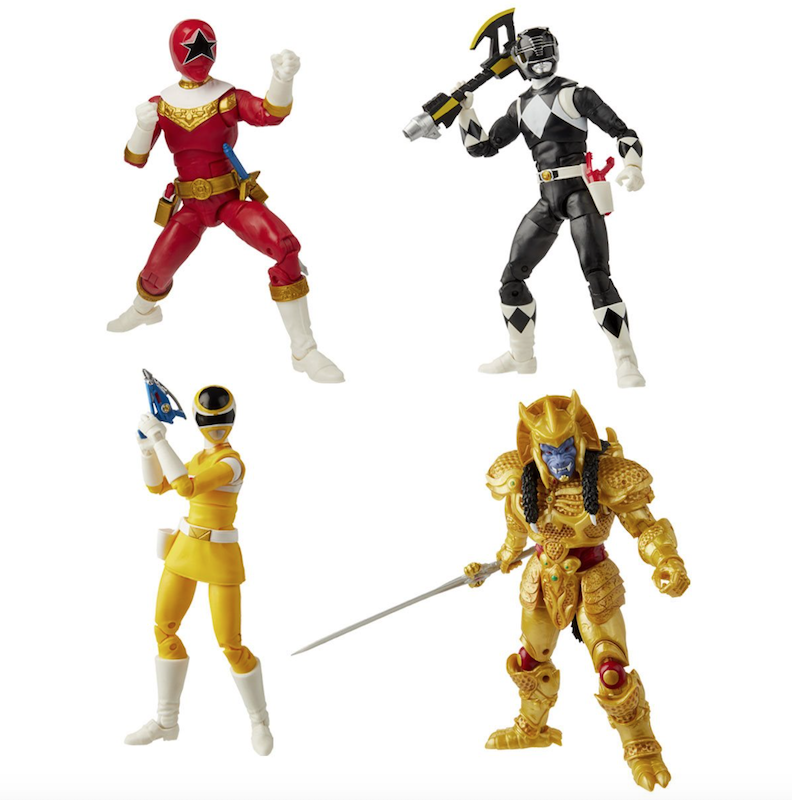 Hasbro Power Rangers Lightning Collection Wave 6 Figure Pre-Orders