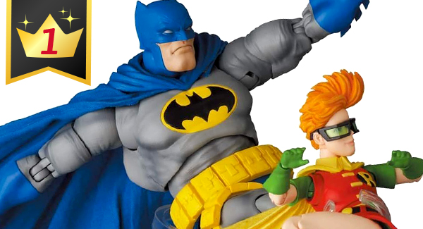Hobby Link Japan – Mafex Batman & Robin, Mafex Iron Man Mark 85, Harley Quinn & Top Collectibles This Week