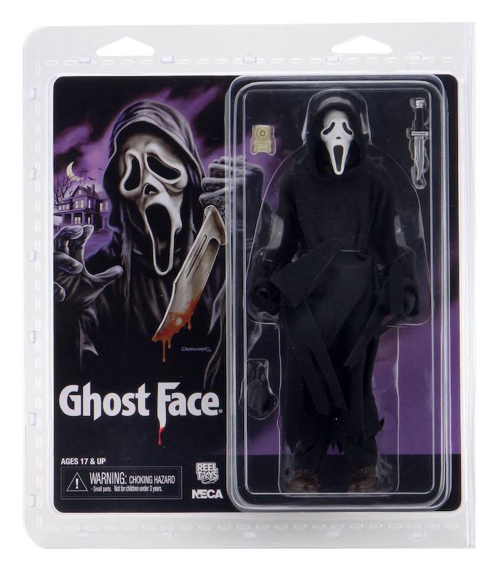 NECA Toys Scream – Ghostface 8″ Figure In-Packaging