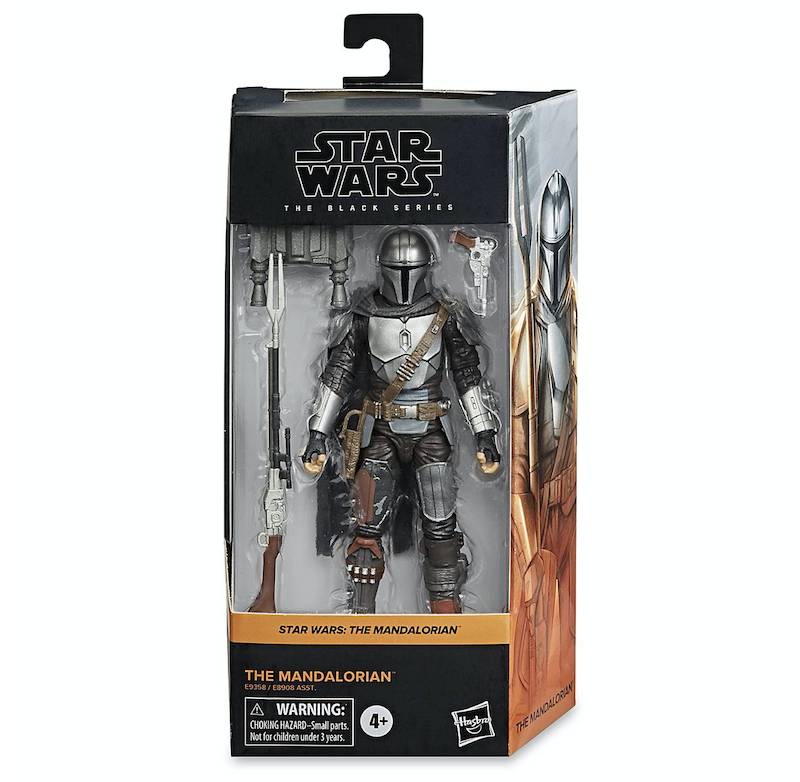 Hasbro Star Wars: The Black Series – The Mandalorian Beskar Armor Figure In-Stock At Shop Disney