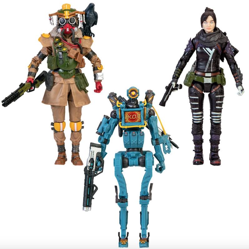 Jakks Pacific Apex Legends 6″ Figures Series 1