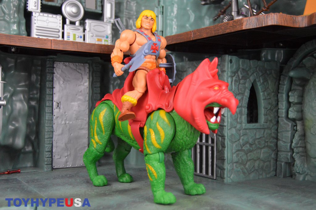Mattel – Masters Of The Universe Origins Battle Cat Figure Review