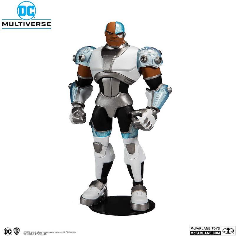McFarlane Toys DC Multiverse – Teen Titans Cyborg Figure Pre-Orders – Update