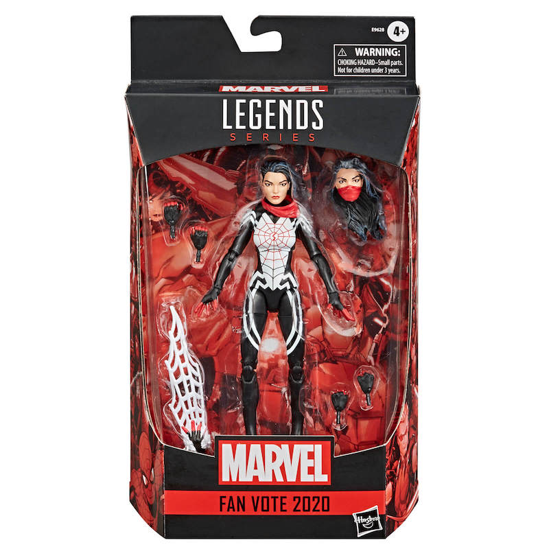 Zavvi U.K. – Hasbro Marvel Legends Fan Vote Marvel's Silk Figure Pre-Orders