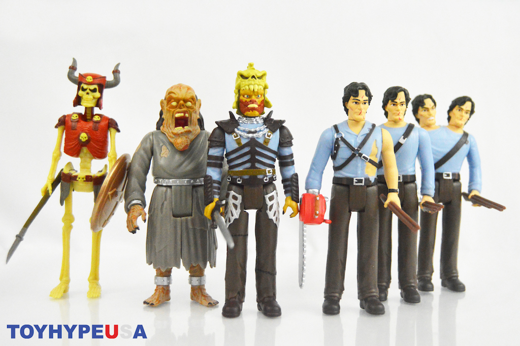 Super7 – Army Of Darkness ReAction Figures Review