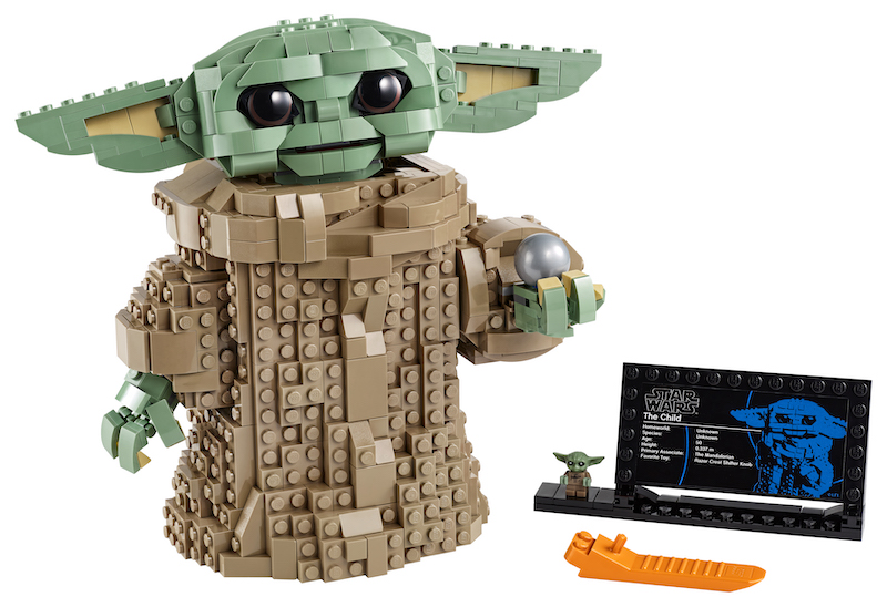 "LEGO Releases ""The Child"" New Building Set For Mandalorian Fans & Star Wars Lovers"