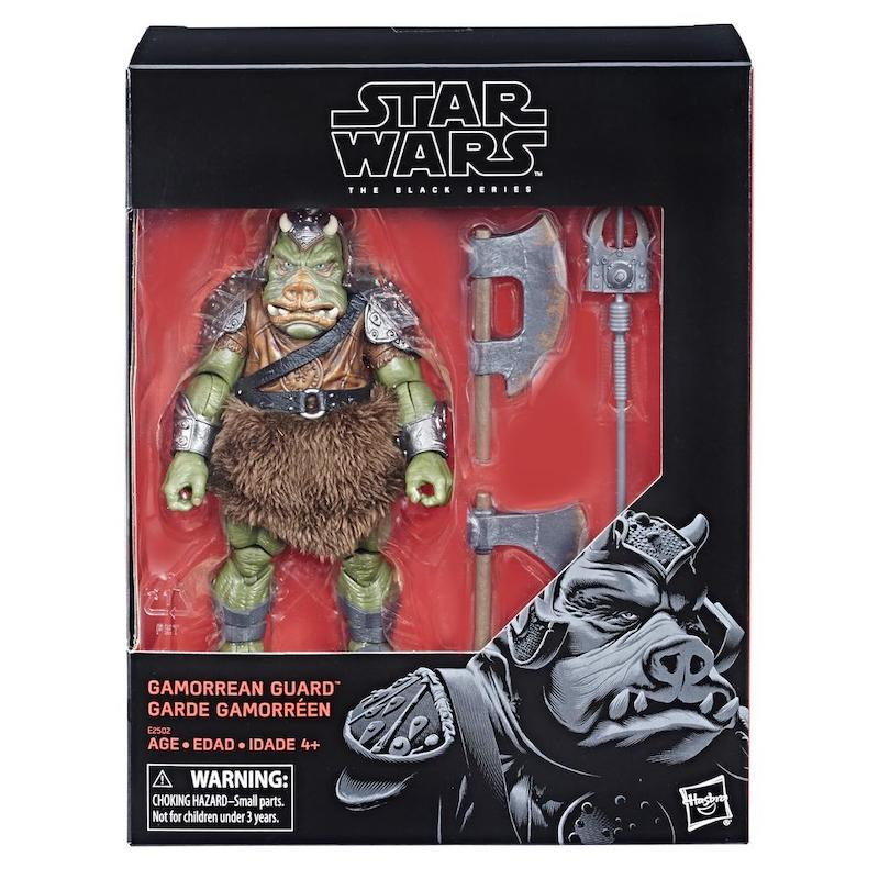 Hasbro Star Wars The Black Series Gamorrean Guard, Clone Commander Wolffe, Commander Gree & More New Reissues